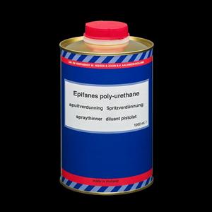 Polyurethane Thinner for Spray 1000 ml.